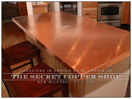 Original Coppersmith Art Curios Copperworks Custom Copper Commission Work